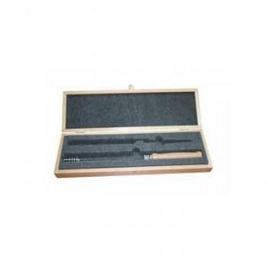 Biotensor, kogelgelagerd met houten handvat incl. opbergdoos